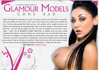 Glamour Models Gone Bad